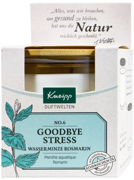 Kneipp Goodbye Stress Scented Candle, 145 g