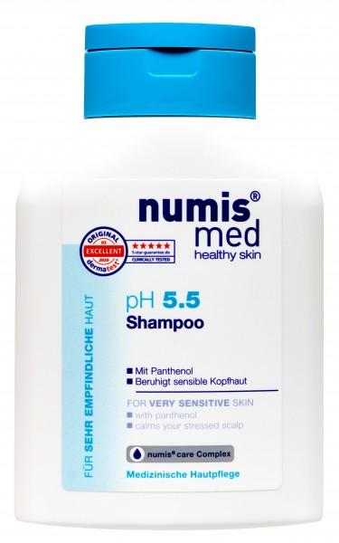 Numis Med PH 5.5 Sensitive Shampoo, 200 ml