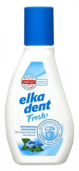 Elkadent Fresh Mouthwash, 125 ml