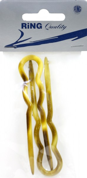 Acetate Hairpin, large, 9 cm, 2-pack