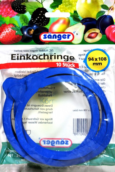Preserving Ring with Notch, 94 x 108 mm, 10-count