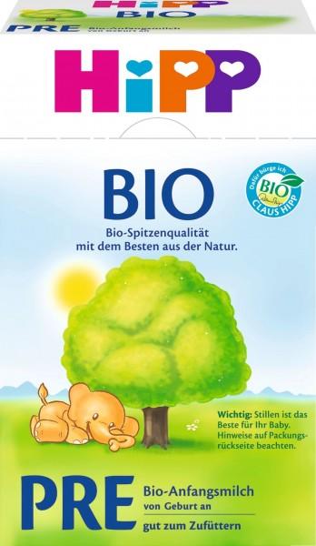 Hipp 2000 Organic Pre Infant Milk, 600 g