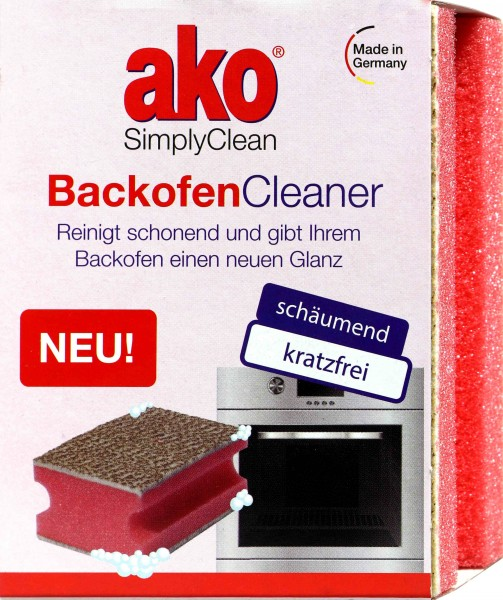 Ako Oven Cleaner Scratchless Foaming Sponge, 1 PK