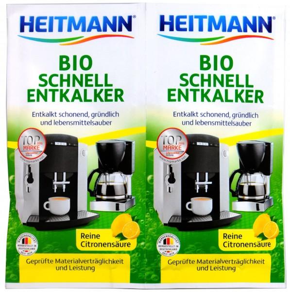 Heitmann Organic Quick Descaler, 2 x 25 g