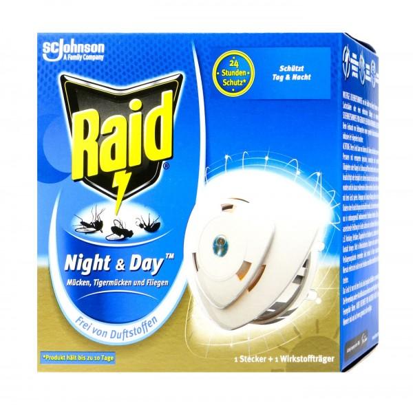 Raid Night & Day Original Insect Plug-in, 7 g