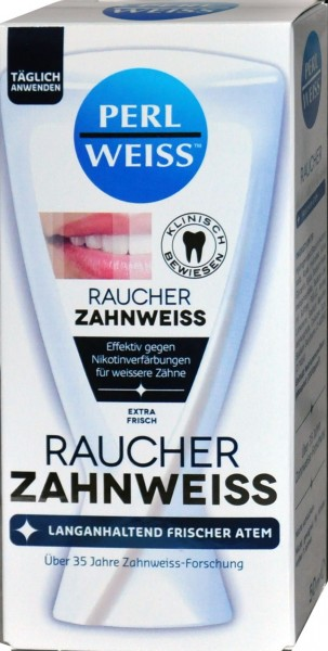 Perlweiss Tooth Whitener for Smokers, 50 ml