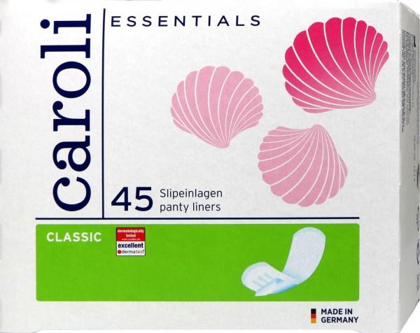 Caroli Classic Panty Liners, 45-pack