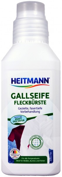 Heitmann Gall Soap with Stain Remover Brush, 250 ml