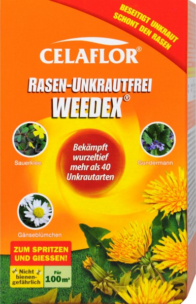 Celaflor Weedex Lawn Weed Killer, 100 ml