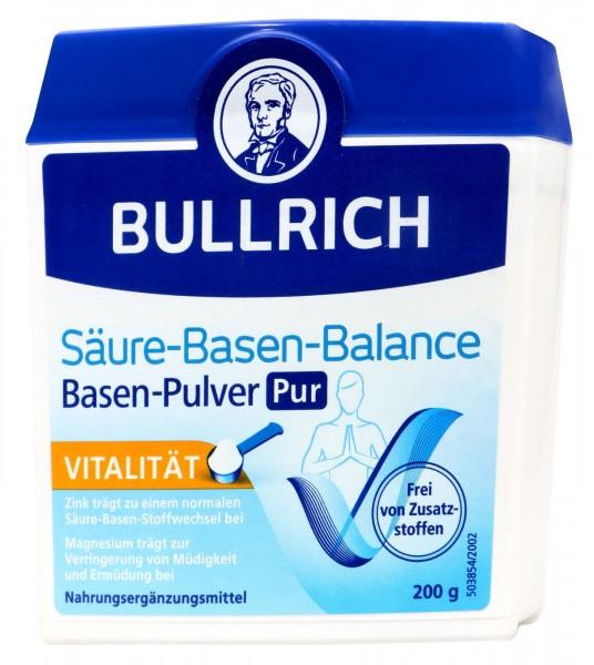 Bullrich acid-base balance powder pure, 200 g