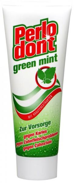Perlodont Green Mint Toothpaste, 75 ml