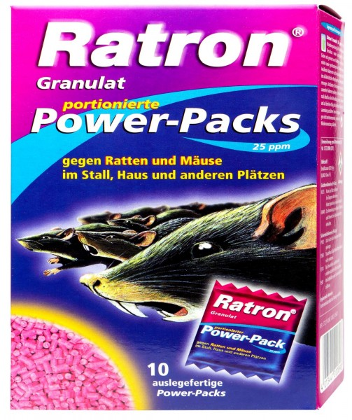 Delicia Ratron Granules Power Packs, 400 g