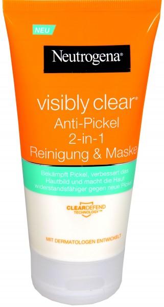 Neutrogena Visibly Clear Wash-Mask, 150 ml