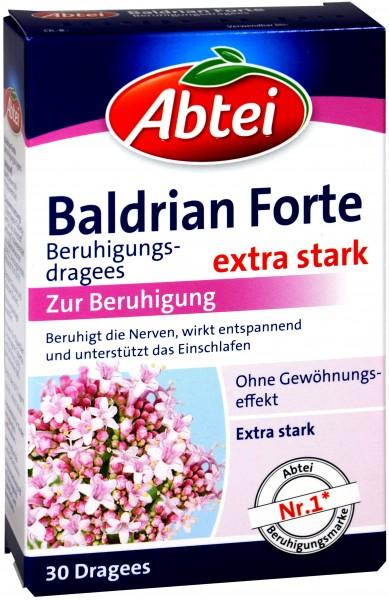 Abtei Calming Valerian Nighttime Forte, 30-count