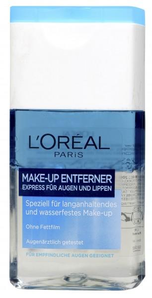 L'oreal Eye Makeup Remover, 125 ml
