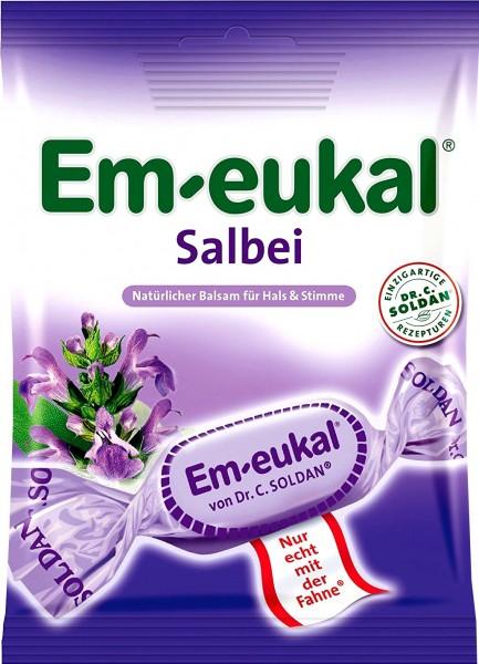 Em-Eukal Sage Lozenges, 75 g