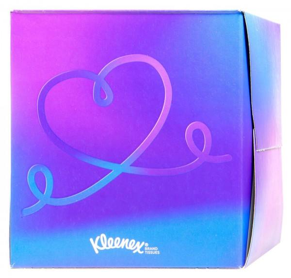 Kleenex Facial Tissues, square box, 56-count
