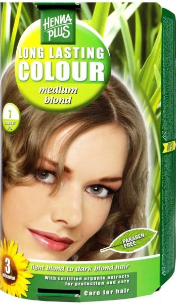 Hennaplus Long Lasting Colour, 7