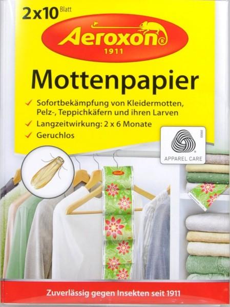 Aeroxon Moth Paper 2 x 10, 20 g