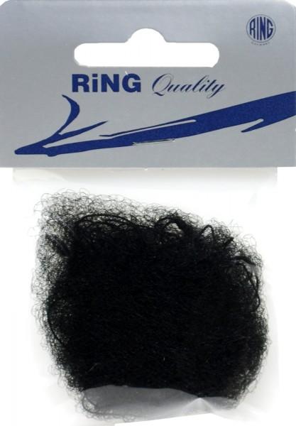 Hairnet, dark, elasticated, 3-pack