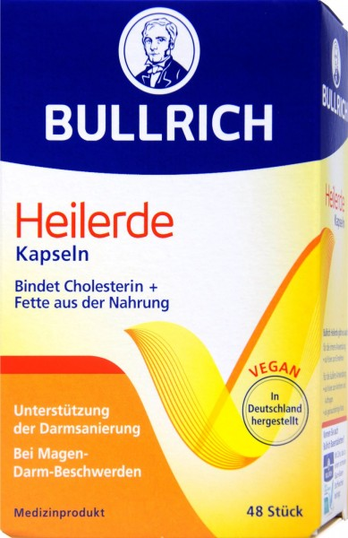 Bullrich Healing Clay Capsules, 48-count