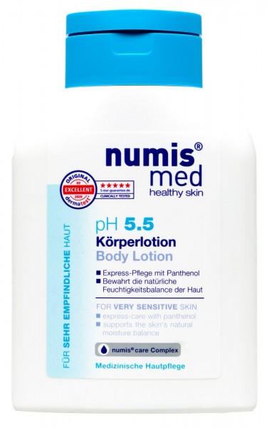Numis Med PH 5.5 Sensitive Protective Lotion, 200 ml