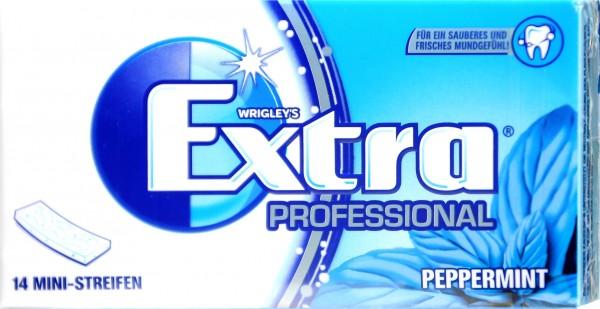 Wrigleys Extra Professional Peppermint Sugar Free, 14 PK