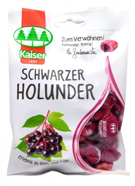 Kaiser Black Elderberry, 90 g