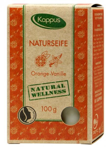 Kappus Natural Soap Orange-Vanilla, 100 g