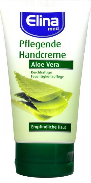 Elina Aloe Vera Hand Cream, tube, 150 ml