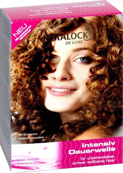 Keralock Intensive Home Perm for Difficult to Curl Hair