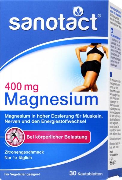 Sanotact Magnesium 400 MG, 30 PK