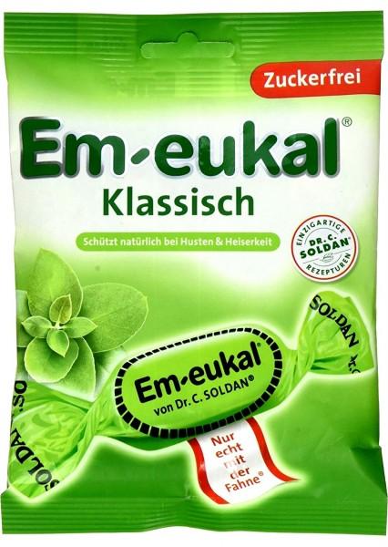 Em-Eukal Classic, sugar-free, 75 g