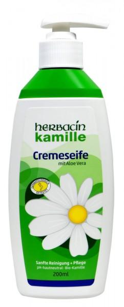 Herbacin Camomile Creamsoap Dispenser, 200 ml
