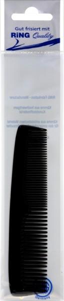 Pocket Comb, black, 13 cm