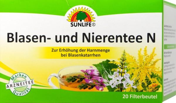 Sunlife Bladder and Kidney Tea, 20-count
