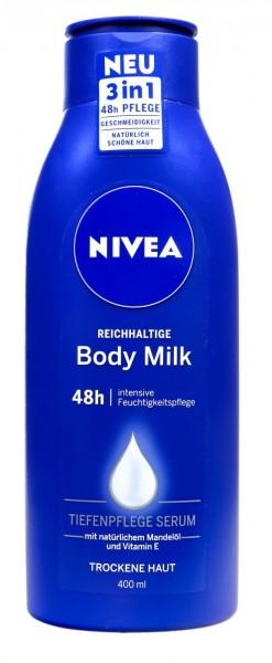 Nivea Rich Body Milk, 400 ml