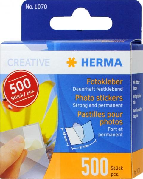 Herma Photo Adhesive 1070, 500-count