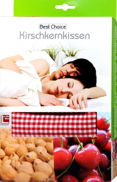 Cherry Pit Pillow in Box, 25 x 20 cm