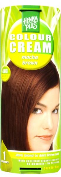 Hennaplus Colour Cream, Mocha Brown, 4.03