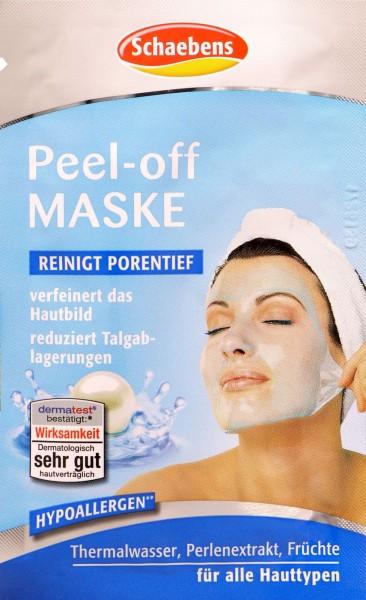 Schaebens Peel Off Mask, 15 ml