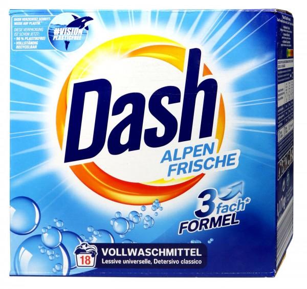 Dash Powder Detergent, 18 washes, 1.17 kg