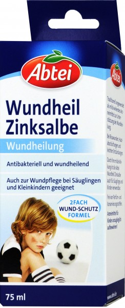 Abtei Healing Zinc Ointment, 75 ml